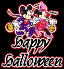 1936020896 happy halloween mickey minnie mouse glitter gif 300