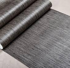 metallic vertical faux grasscloth emboss texture wallpaper modern
