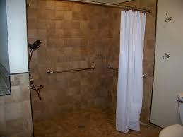handicap tile shower designs ada water control and proper slope wet room bathroom design showers