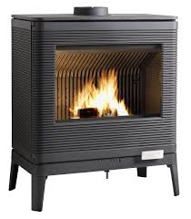 Poele Granule Jotul Wood Heating Stove Contemporary Metal Kazan By B Dequet