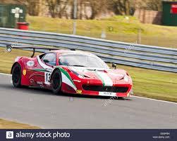 Ferrari 458 Gt - ferrari 458 italia gt3 sports car in british gt championship at