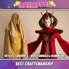 queen amidala throne room gown photos from animate miami are here