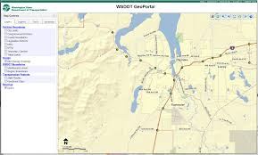 Lacey Washington Map by Fhwa Gis In Transportation Applications