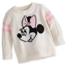 minnie mouse pullover sweater for baby shopdisney