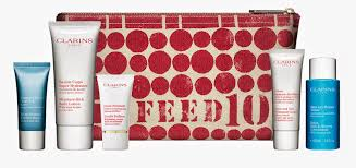 clarins and feed10 gift with purpose caroline hirons