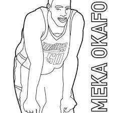 slam dunk champion of nba coloring page slam dunk champion of nba