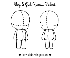 how to draw clothes for kawaii characters