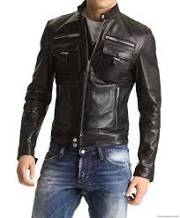 mens black biker style boots arrow designer custom made moto style leather jacket for stylish
