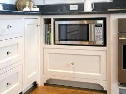 kitchen microwave ideas microwave storage solutions kitchen cabinet storage ideas solutions