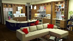 alluring google sketchup kitchen design concept draw cabinets