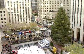 a live feed of the rockefeller center tree new