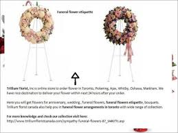 thank you for funeral flowers how to get fresh flower delivery funeral flowers toronto