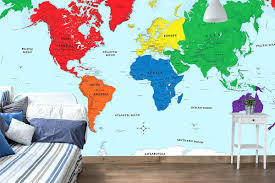 articles with world map wall mural canada tag map wall mural world map wall mural vinyl decal world map wall mural ikea early learning world political map