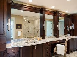 bathroom mirror trim ideas home design inspirations
