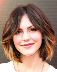 short brown hair with light blonde highlights 35 short hair color ideas short hairstyles 2017 2018 most