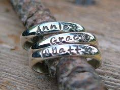 day rings personalized stackable rings name rings personalized rings 25 00 via etsy