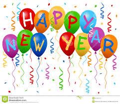 happy new year balloon happy new year balloons banner stock vector image 27105113