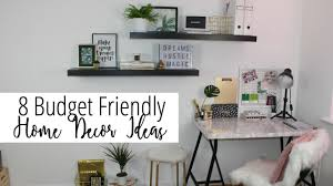 8 room decor u0026 home decoration ideas on a budget affordable luxe