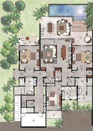 unique house plans 3 bedroom corglife resort style floor plan