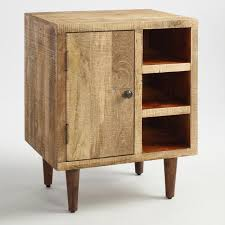 rustic wood cabinet world market