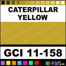 caterpillar yellow industrial enamel paints gci 11 158