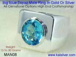 blue man rings images Man gem stone ring custom made high end gemstone rings for men jpg