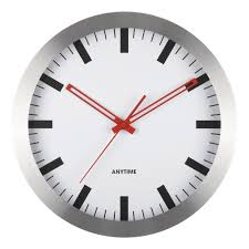 Horloge Cuisine Rouge by New York Pm