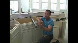 Installing Floor Cabinets Cabinet Installation 5 Youtube