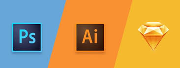 should you use photoshop illustrator or sketch to draw vector