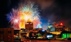 Festival Of Lights Peoria Il Red White U0026 Boom