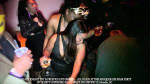 masquerade halloween party atlanta all black attire masquerade mask party w dj davy coppafeel
