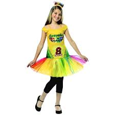 Halloween Costumes Girls Amazon Amazon Crayola Crayon Box Dress Child Costume Small Clothing