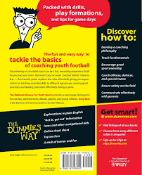 Flag Football Rules For Dummies Coaching Football For Dummies Amazon Co Uk The National Alliance
