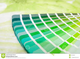 Green Color Palette by Rainbow Color Palette Stock Photo Image 55016958