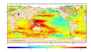 sea of map sea level rise website