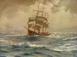 Nautical Painting 146 Best Maritime Paintings Images On Pinterest Boats Sailing