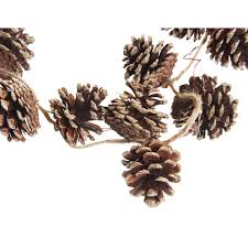pinecone garland affordable christmas decorations kg lifestyle interiors