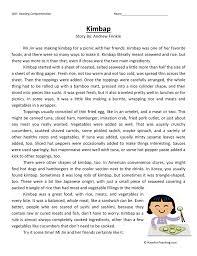 worksheets short stories for grade six opossumsoft worksheets