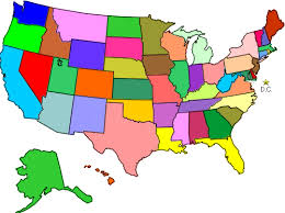 map of us without names practitioner search the microlight institute