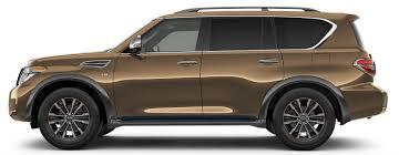2017 nissan armada exterior color options