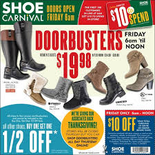 black friday doorbusters shoe carnival