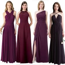 affordable dresses cheap chiffon mismatched custom bridesmaid dresses