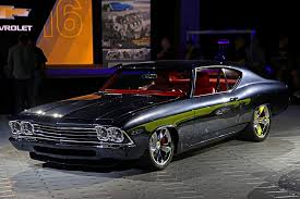 concept chevelle chevrolet performance unveils slammer camaro and chevelle at