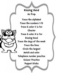 the kissing hand coloring pages with regard to inspire to color