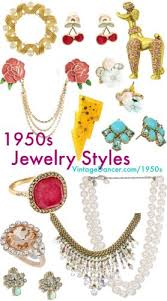 styles of earrings 1950s jewelry styles and history