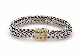 silver weave bracelet images John hardy sterling silver yellow gold vintage 18k clasp weave jpg