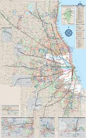 Map Metro Chicago by Chicago Metro Map Subway U2022 Mapsof Net