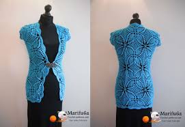 crochet pattern videos for beginners how to crochet cardigan jacket chaleco free pattern tutorial by