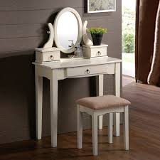 Antique White Makeup Vanity Bedroom Vanity Table With Drawers Home U0026 Interior Design