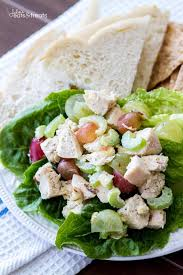 light and healthy chicken salad recipe julie u0027s eats u0026 treats